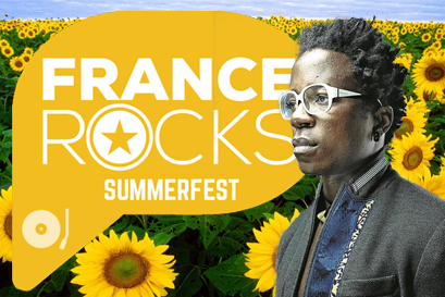 Blick Bassy au FranceRocks Summerfest - 13/07, New York'